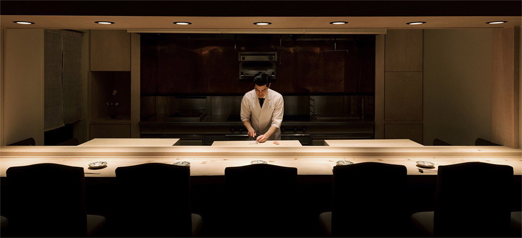 『日本料理 隼人』